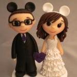 Wedding Cake Topper - Custom made -..